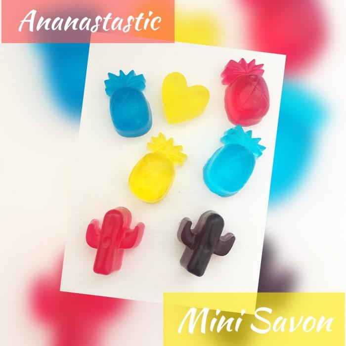 ensemble de mini savon Ananastastique Pour enfants
