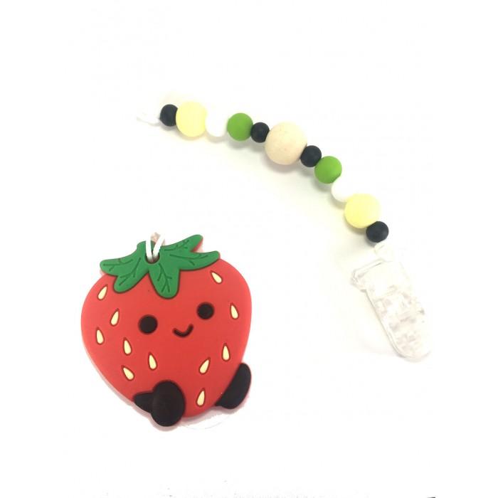 Jouets de Dentition / attache suce fraise