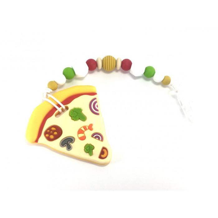 Jouets de Dentition / attache suce pizza