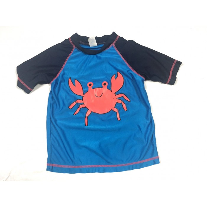 chandail maillot crabe / 24 mois