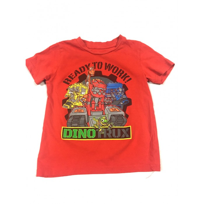 chandail dinotrux / 3 ans