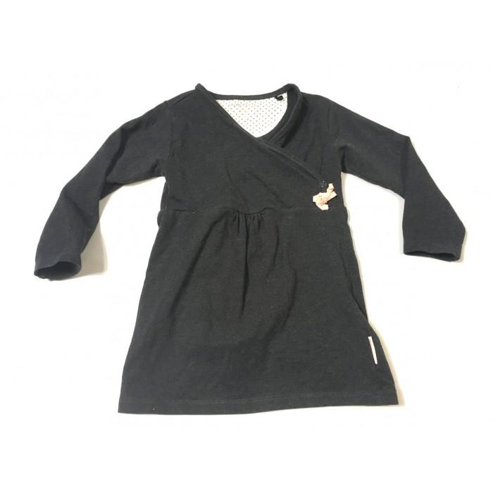 robe cache coeur / 12-18 mois