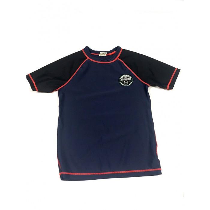 chandail maillot marine / 10 ans