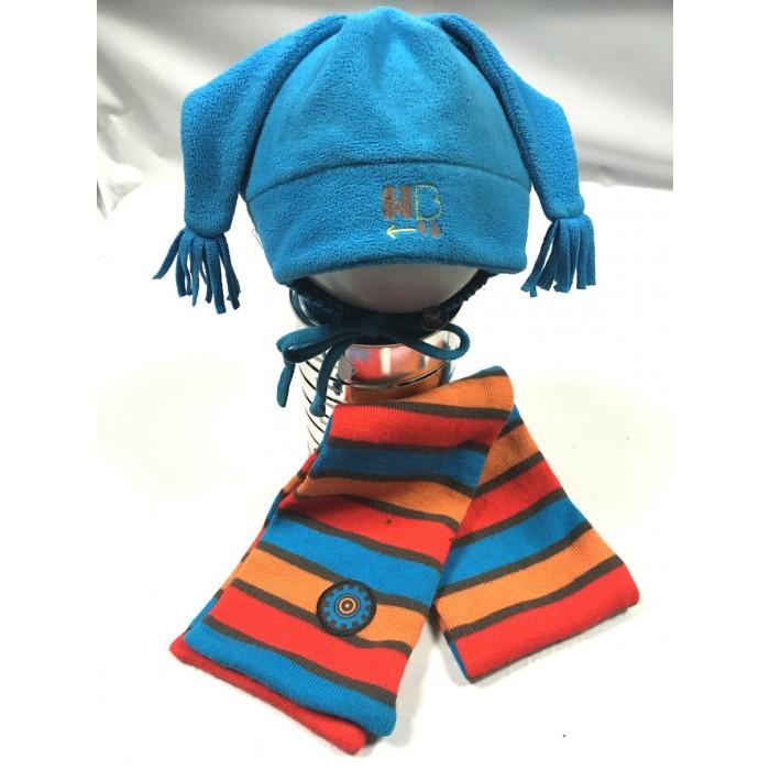 ensemble tuque foulard / 6-8 ans