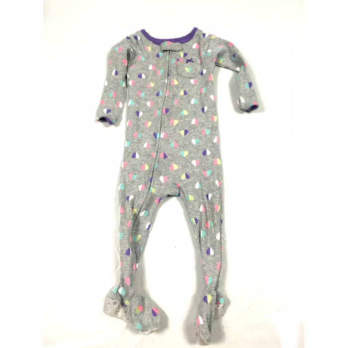 pyjama coeur / 12 mois