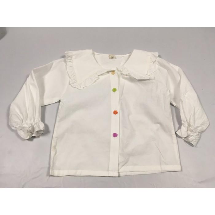 chemise blanche / 4 ans