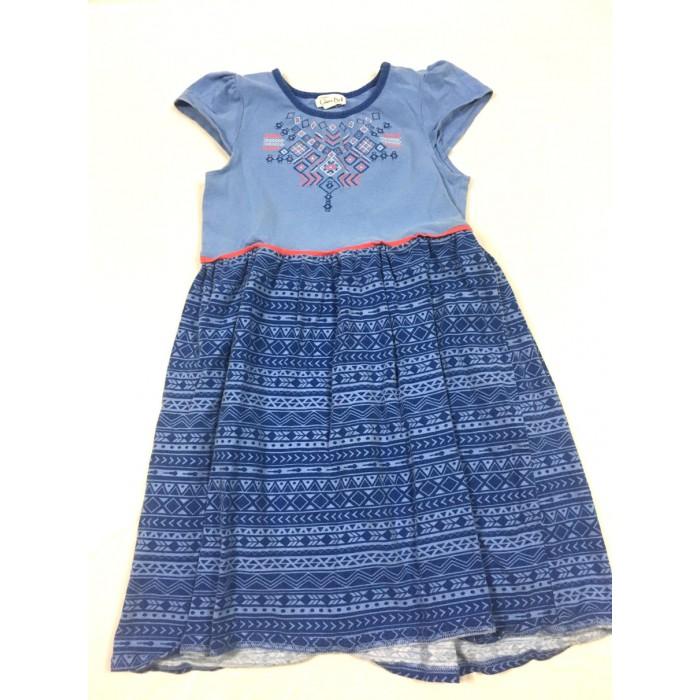 robe bleu / 7 ans