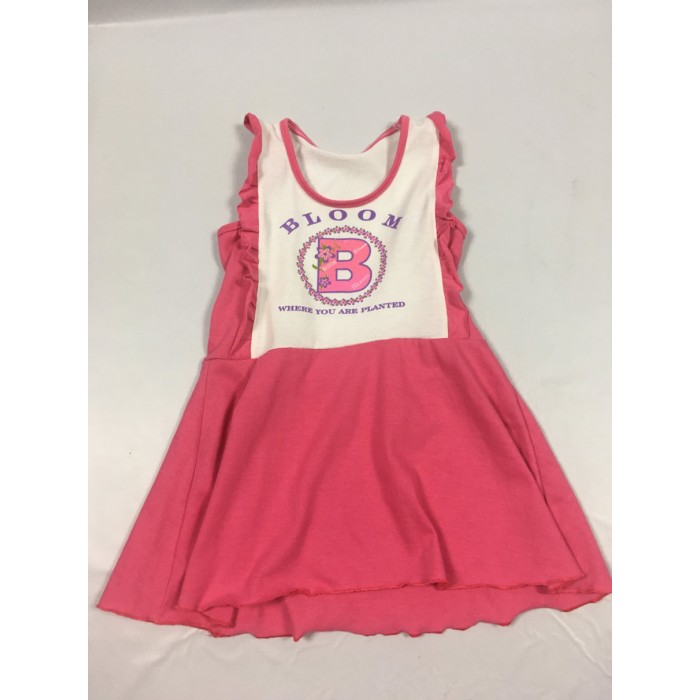 camisole tunique rose / 4-5 ans