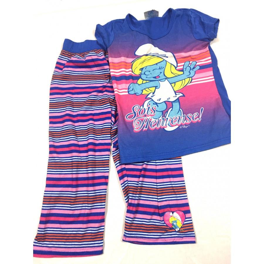 pyjama stroumph / 12 ans