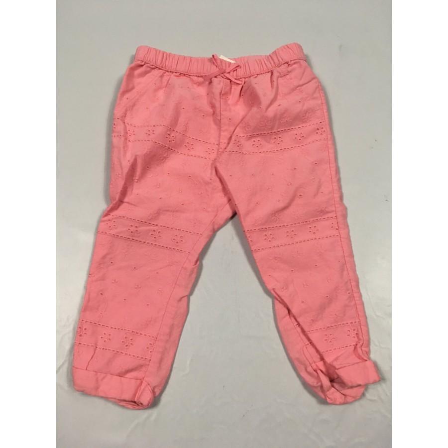 pantalon rose / 12-18 mois