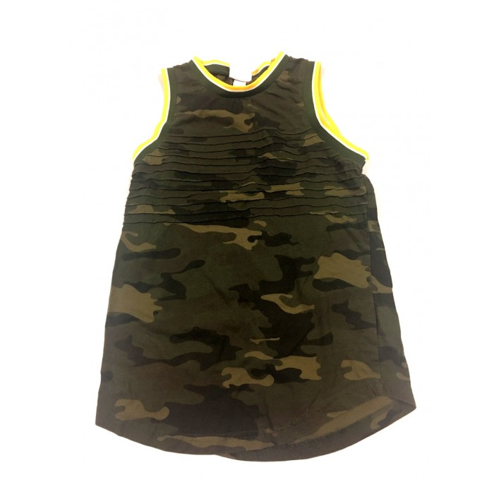 camisole camouflage / 7-8 ans
