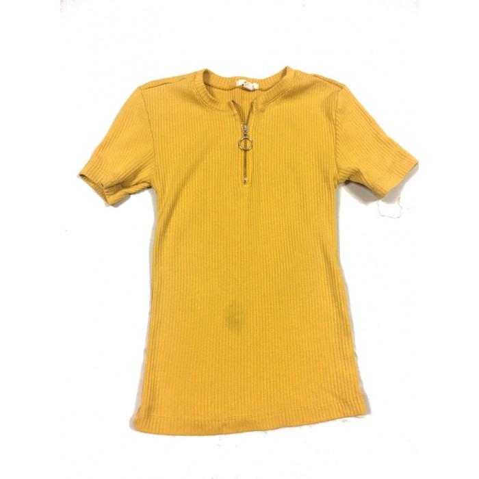 chandail jaune / Xsmall femme