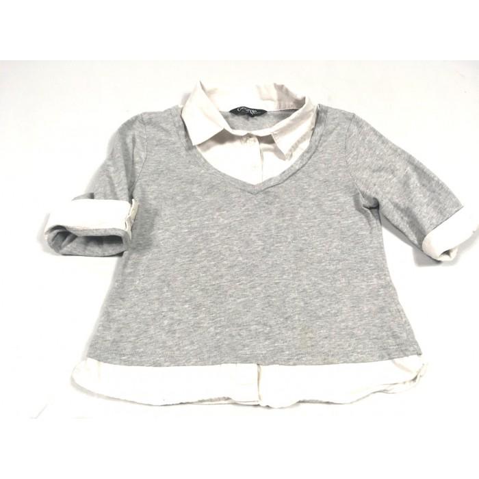 chandail chemise / 7 ans