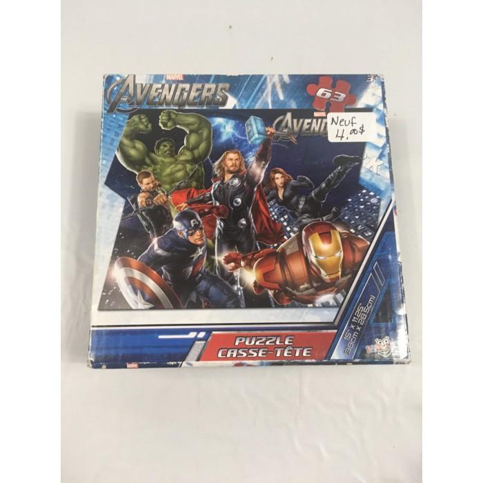 casse-tete Avengers 63 mrcx - neuf