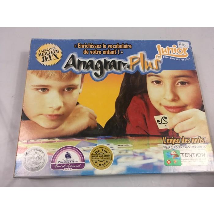 Jeu Anagram Plus Junior