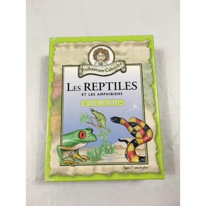 jeux Prof Caboche Les Reptiles