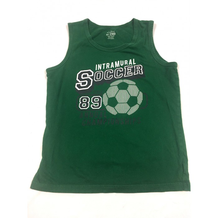 camisole soccer / 10-12 ans