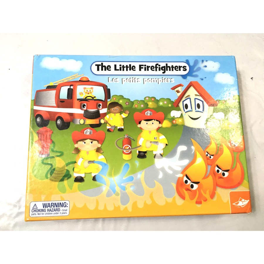 jeu petits pompiers