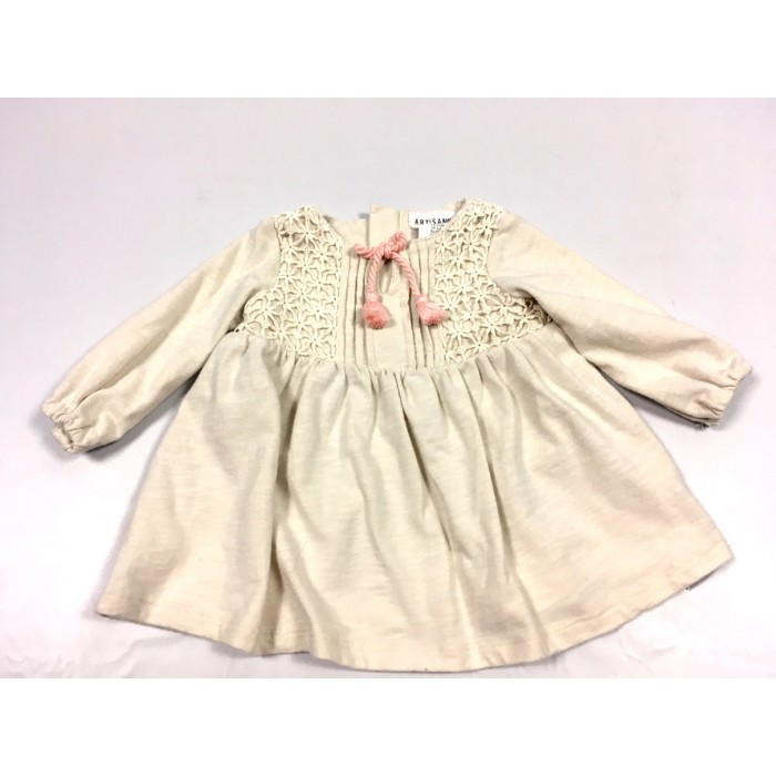 robe bohème 3-6 mois