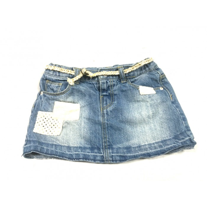 jupe jeans zara / 2-3 ans