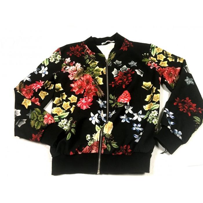 veste fleuris / 14 ans