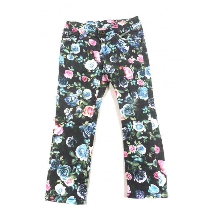 jeans fleuris HM / 2-3 ans