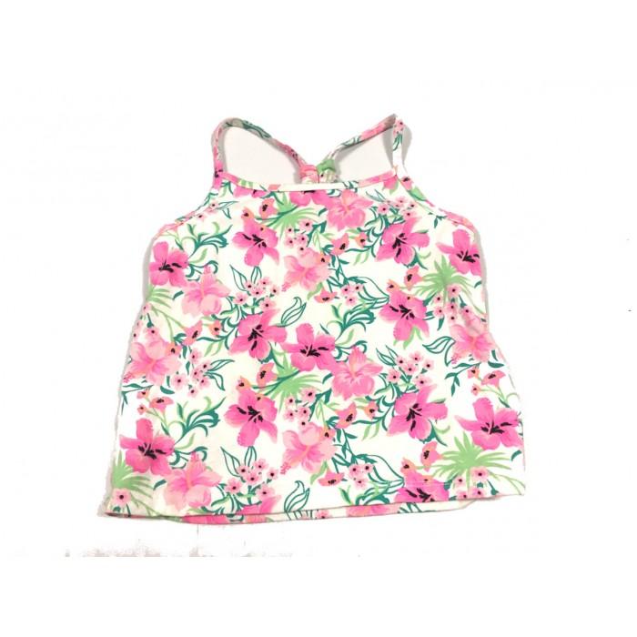 camisole fleuris / 3 ans
