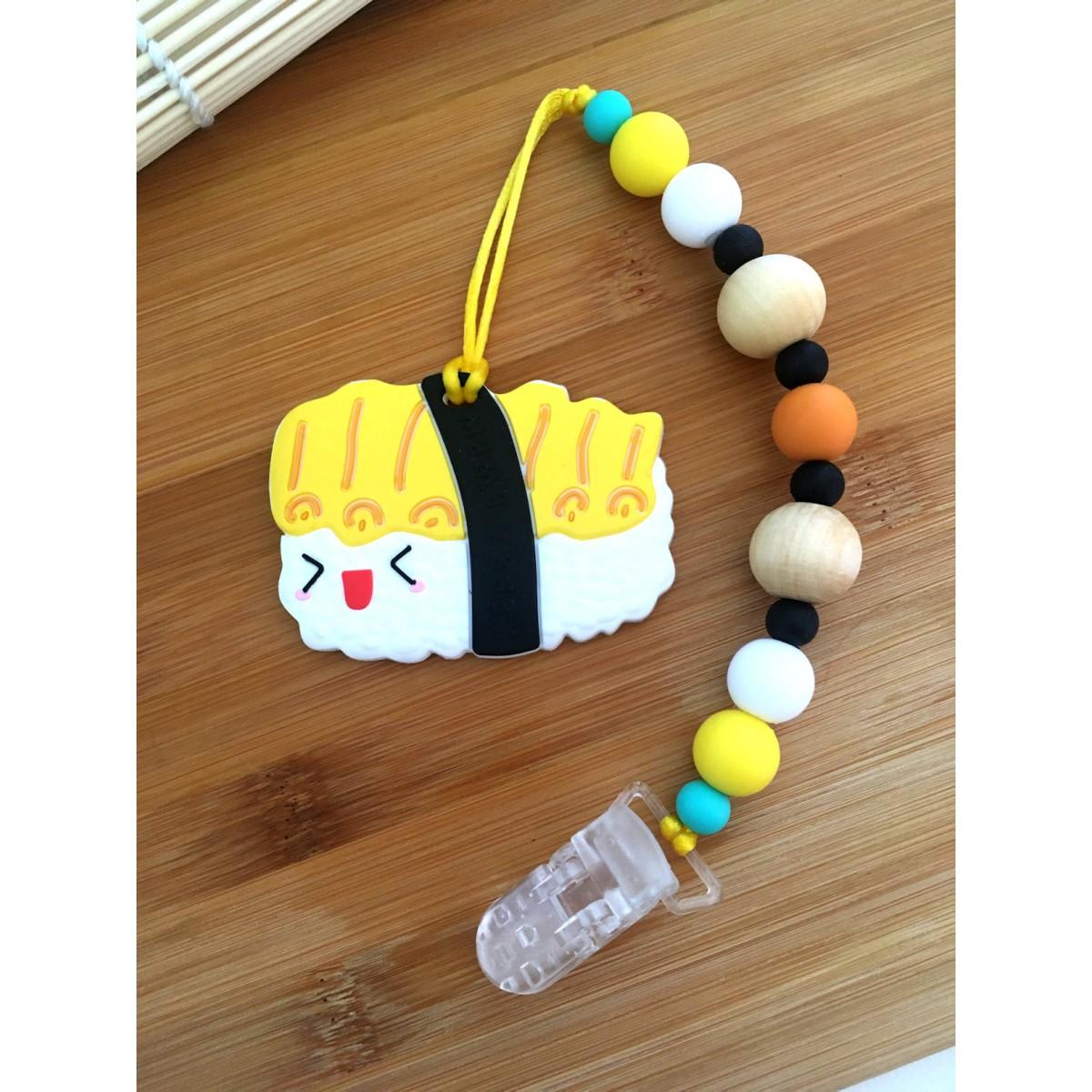 Jouets de Dentition / attache suce Sushi nigiri