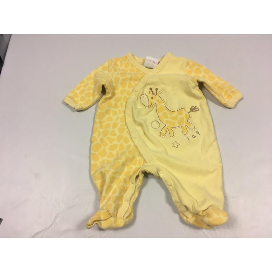 Pyjama girafe / 3 mois