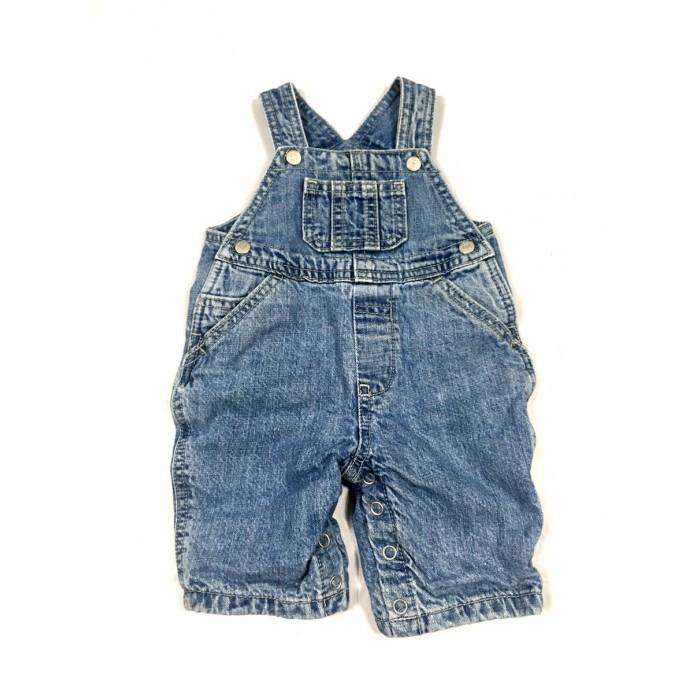 salopette jeans / 0-3 mois