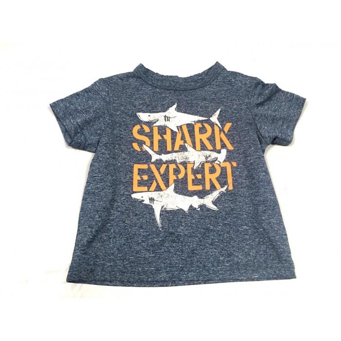chandail requin sport / 12-18 mois