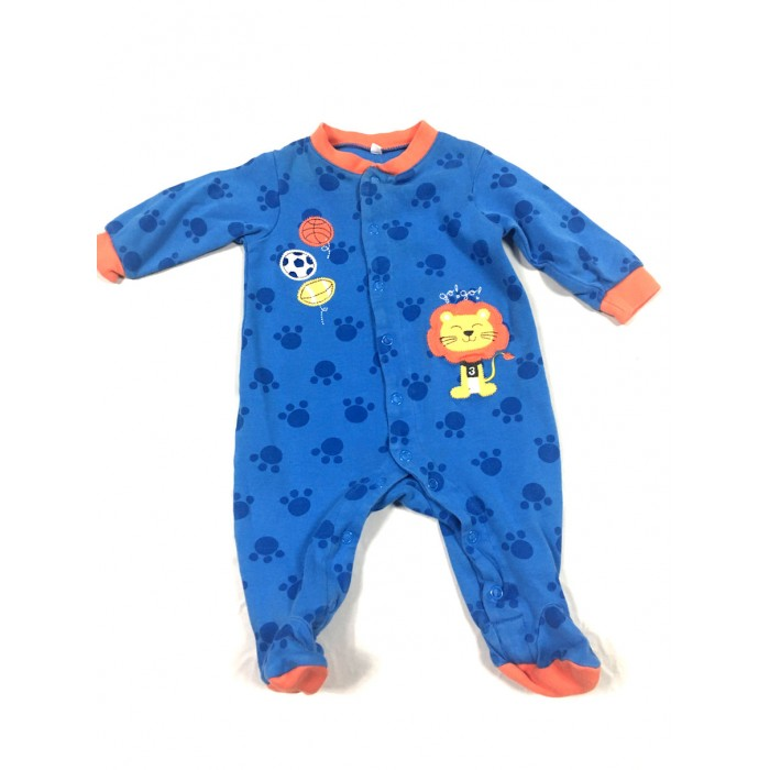 pyjama lion / 0-3 mois
