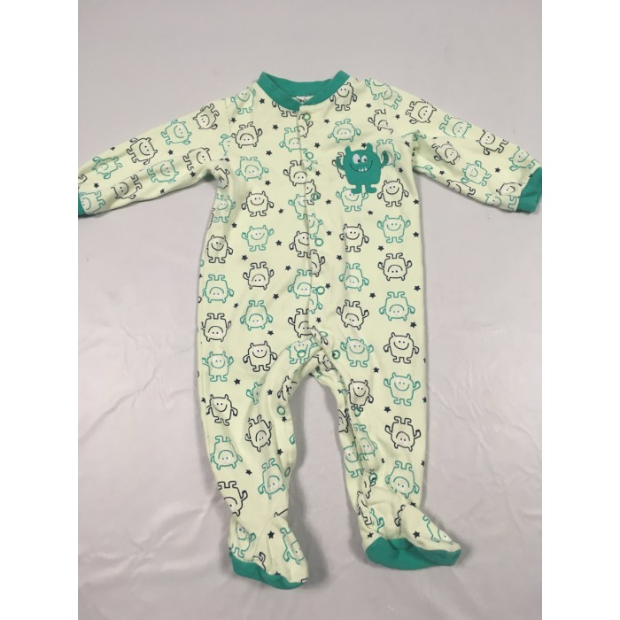 pyjama monstre / 9 mois