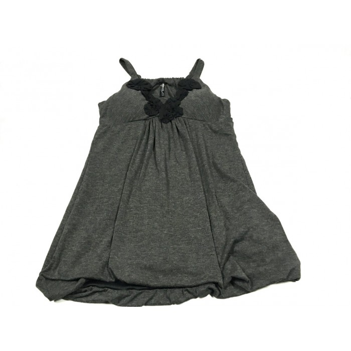 camisole grise / small