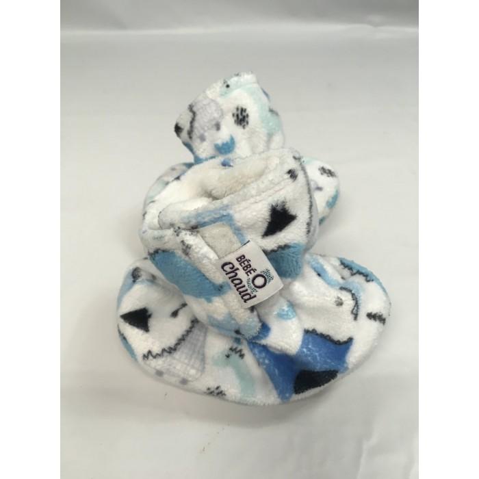 pantoufle bébé o chaud dinosaure / 18-24 mois