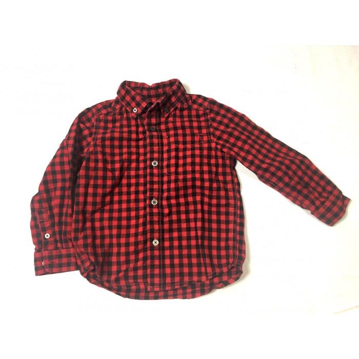 chemise a carreaux / 3 ans