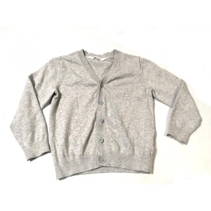 Cardigan gris / 4-6 ans