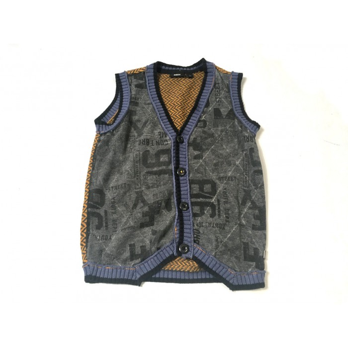 cardigan mexx gris / 7-8 ans