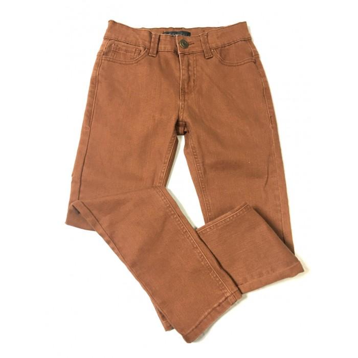 pantalon jeans rouille  / 8 ans