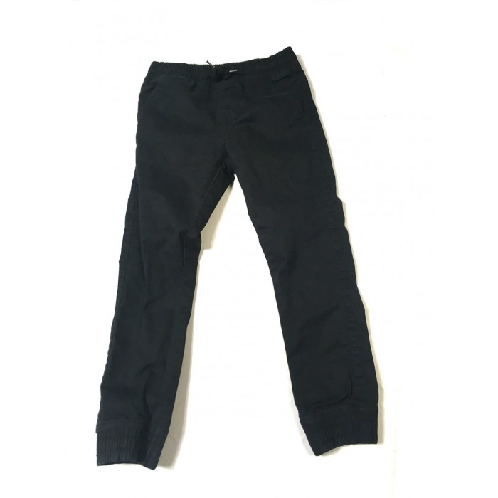 pantalon coton noir / 6 ans