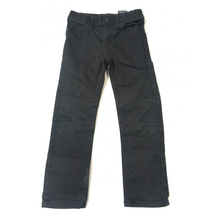 jeans éclaire noir / 6-7 ans