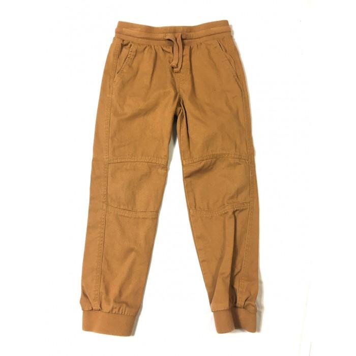 pantalon coton rouille / 5-6 ans