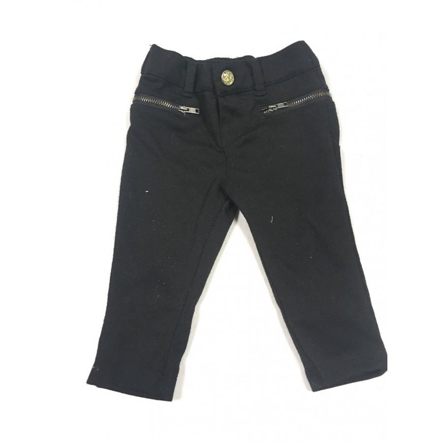 pantalon noir / 3-6 mois
