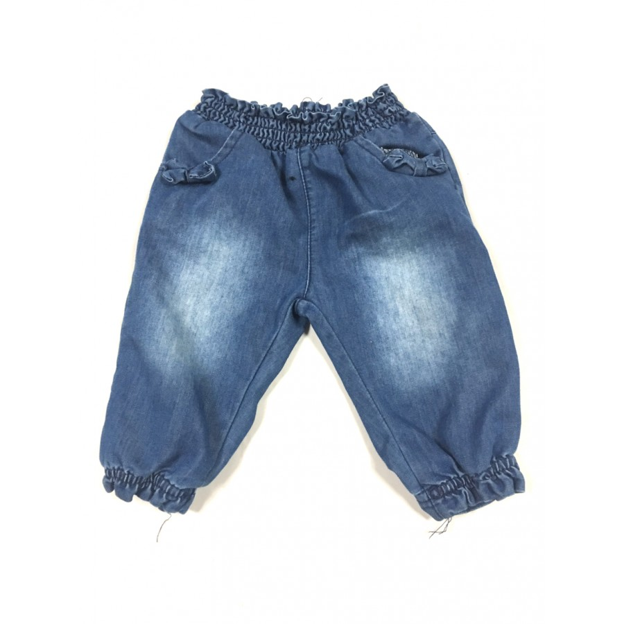 jeans mou / 3-6 mois