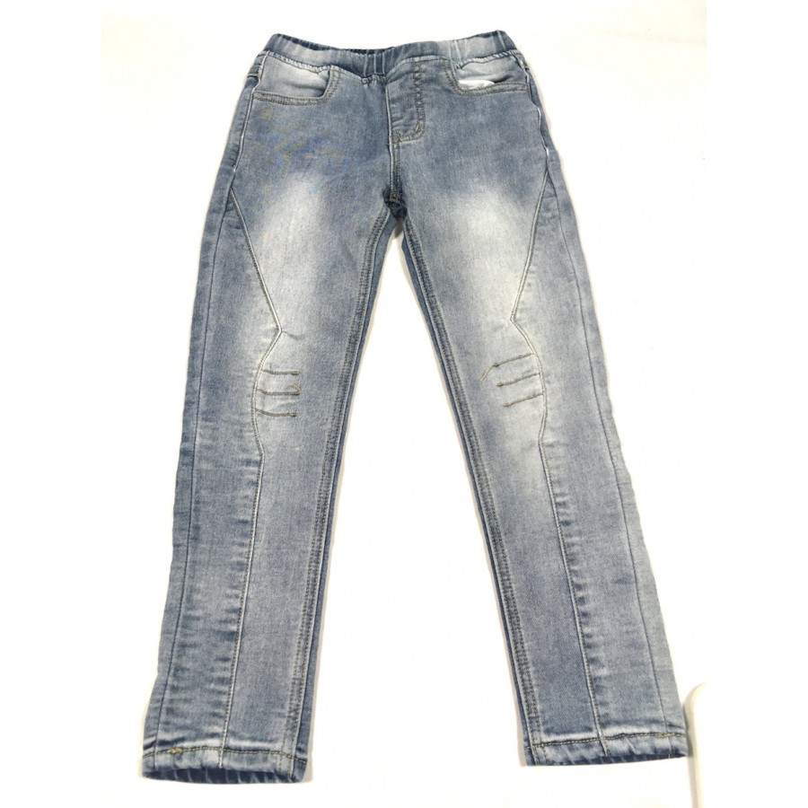 jeans gris / 6 ans