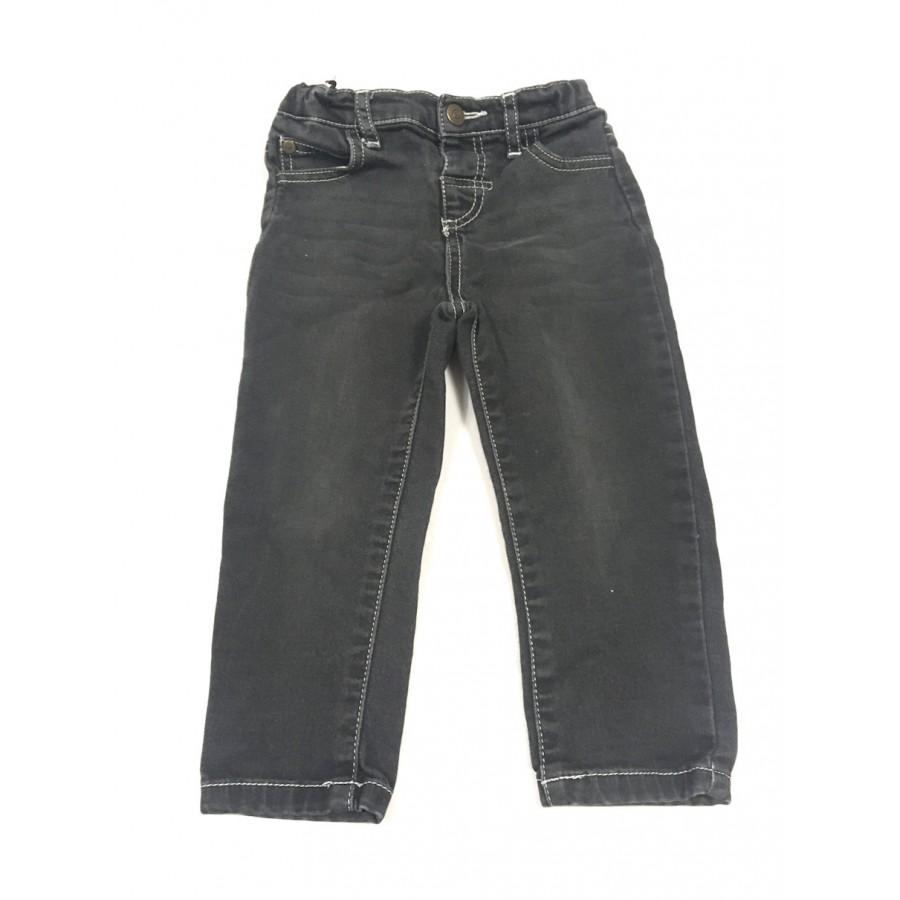 jeans gris / 24 mois