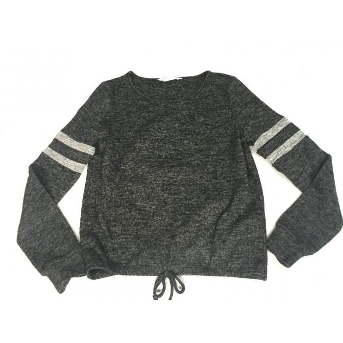 chandail gris urbain / 10-12 ans