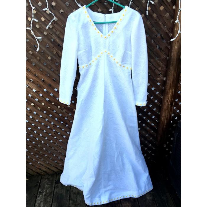 costume robe mariée flower power / small