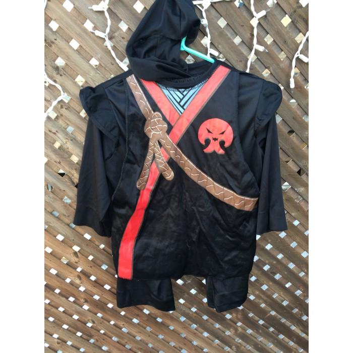 costume ninja / 4-6 ans