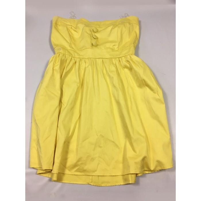 robe jaune pinup / GR : 16